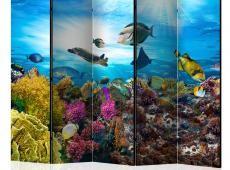Paraván - Coral reef II [Room Dividers]